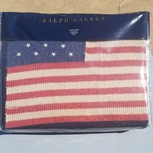 Ralph Lauren Flag throw
